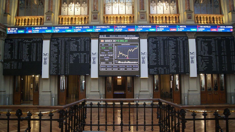 El Ibex conquista los 9.000 puntos tras subir un 2,8% esta semana