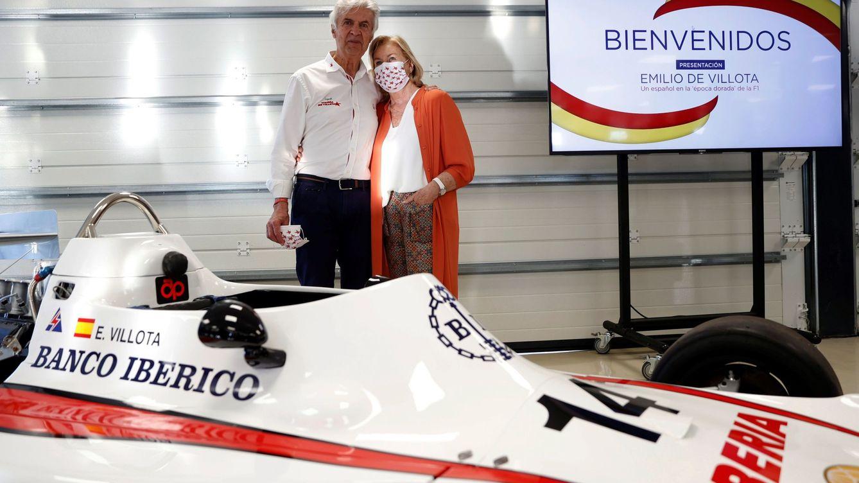 Emilio de Villota, el pionero de la F1: En cada gran premio voy sentado con Alonso y Sainz