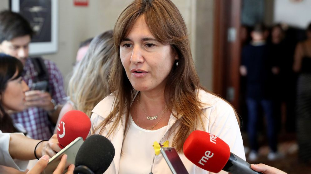 Foto: La portavoz de de JxCAT en el Congreso, Laura Borràs. (EFE)