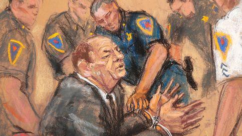 El juicio a Harvey Wenstein, en cinco ilustraciones icónicas