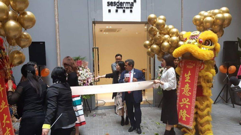 Inauguración de la oficina en China. (Sesderma)