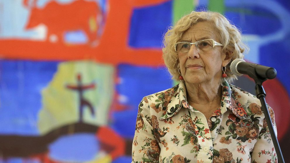 Carmena defiende la web del Ayuntamiento y dice abogar por la libertad de prensa