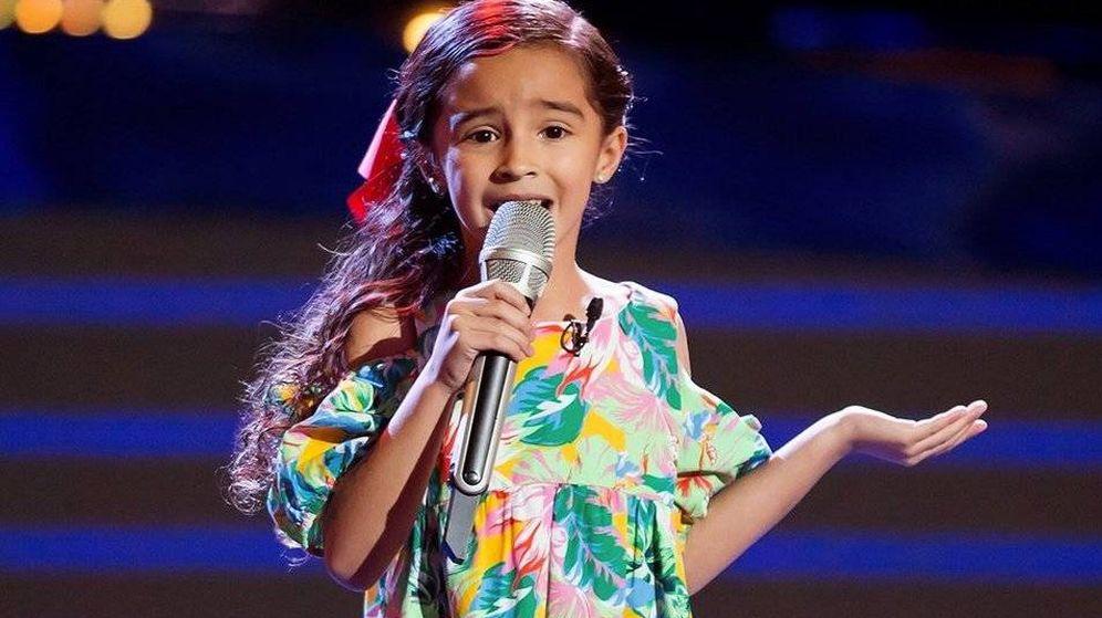 Foto: La pequeña Marian Lorette de León. (Las Estrellas)