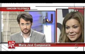 """María José Campanario: """"Una buena persona no habría hecho lo que hizo Belén Esteban"""""""