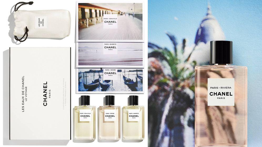 Foto: 'Paris-Riviera' es la nueva fragancia que amplía la colección de aguas de colonia 'Les Eaux de Chanel'.
