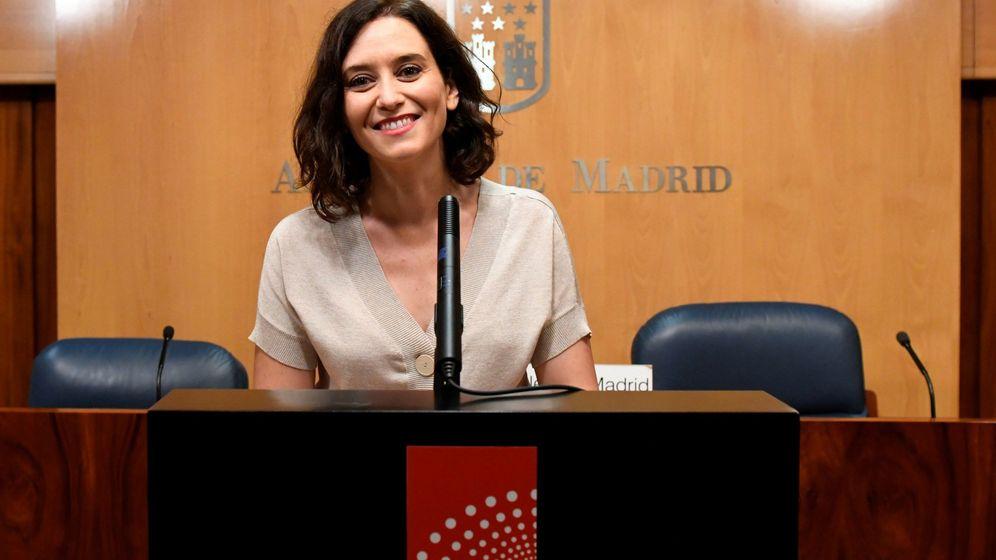 Foto: La candidata del PP a la Comunidad de Madrid, Isabel Díaz Ayuso. (EFE)