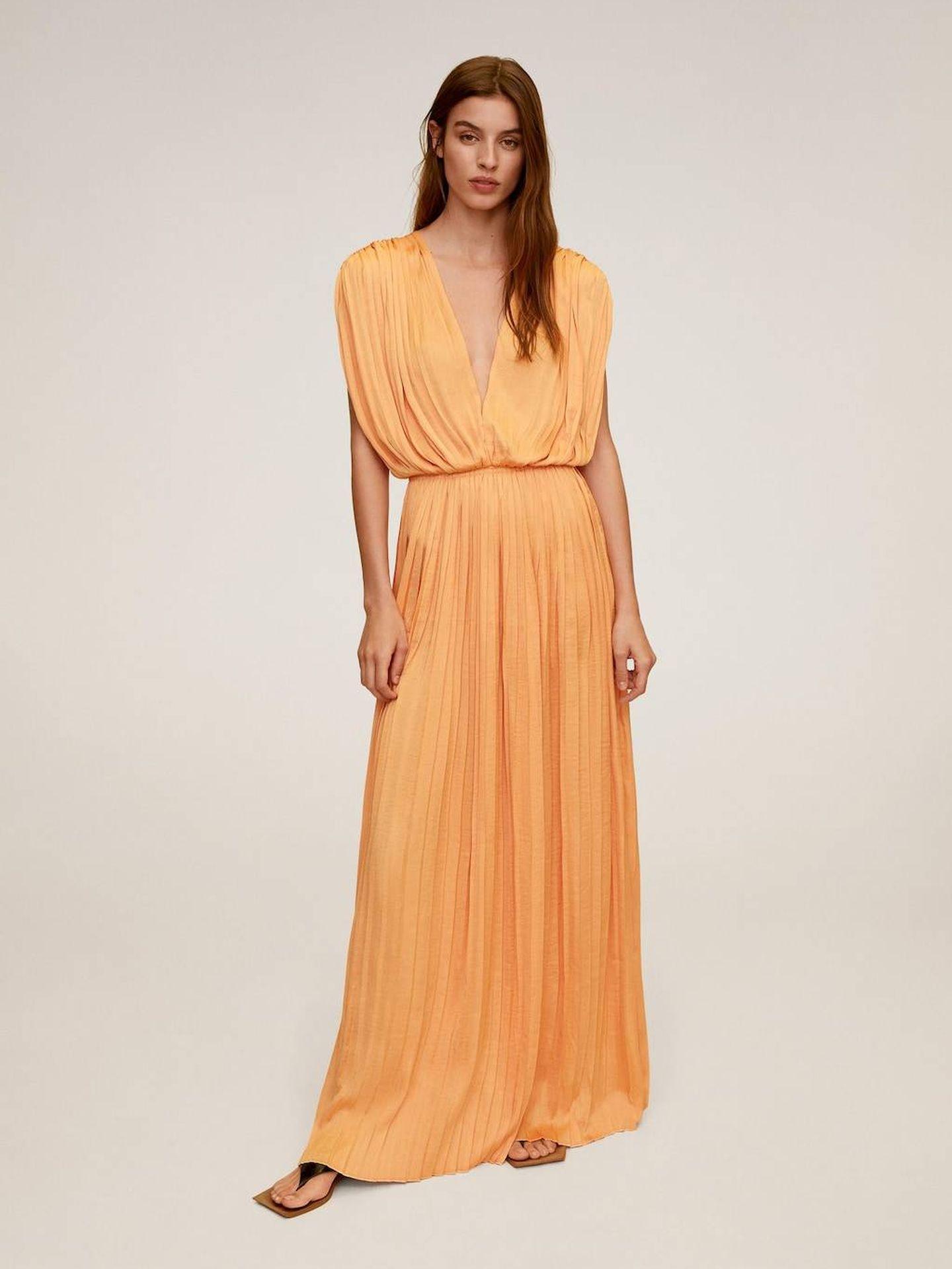 Un vestido de Mango. (Cortesía)
