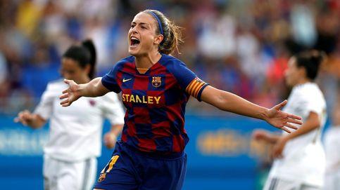 La goleada del Barcelona al Tacón (Real Madrid) en su debut en la liga femenina