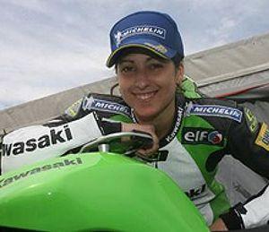 Elena Rosell, la primera española en el Mundial de motociclismo