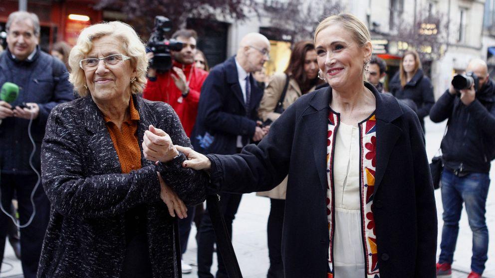 Cifuentes se alía con Carmena y viajarán a Londres para atraer la City a Madrid