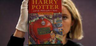 Post de Una primera edición de 'Harry Potter y la Piedra Filosofal', vendida  por 31.000 €