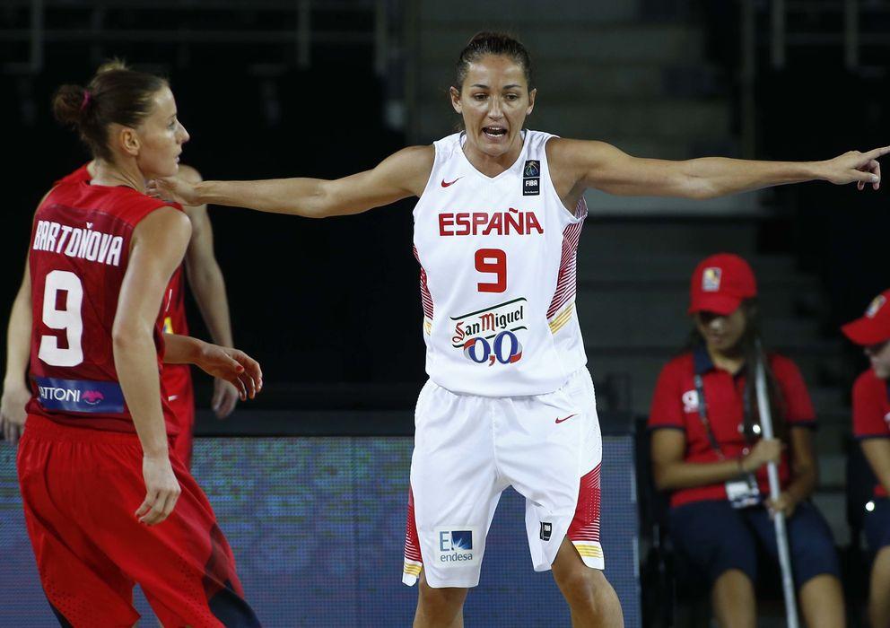 Foto: Laia Palau, con más de 200 partidos internacionales, es la capitana del equipo (Foto: FEB)