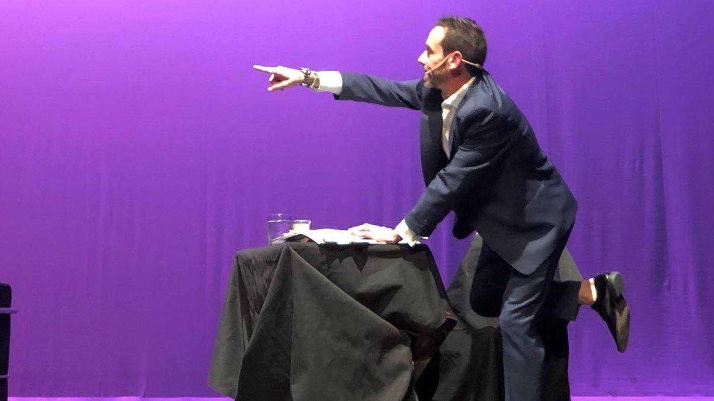 Jesús Manuel Ruiz, el protagonista, en un momento de la producción.