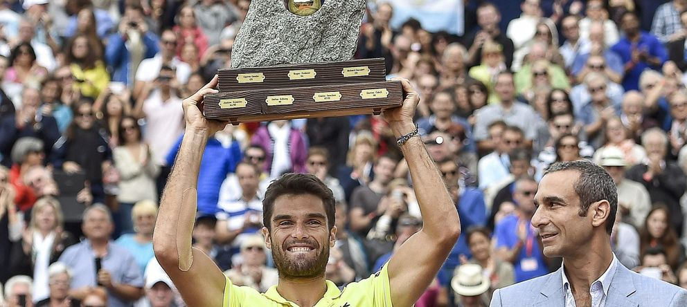 Foto: Pablo Andújar ganó su tercer trofeo como profesional (EFE).