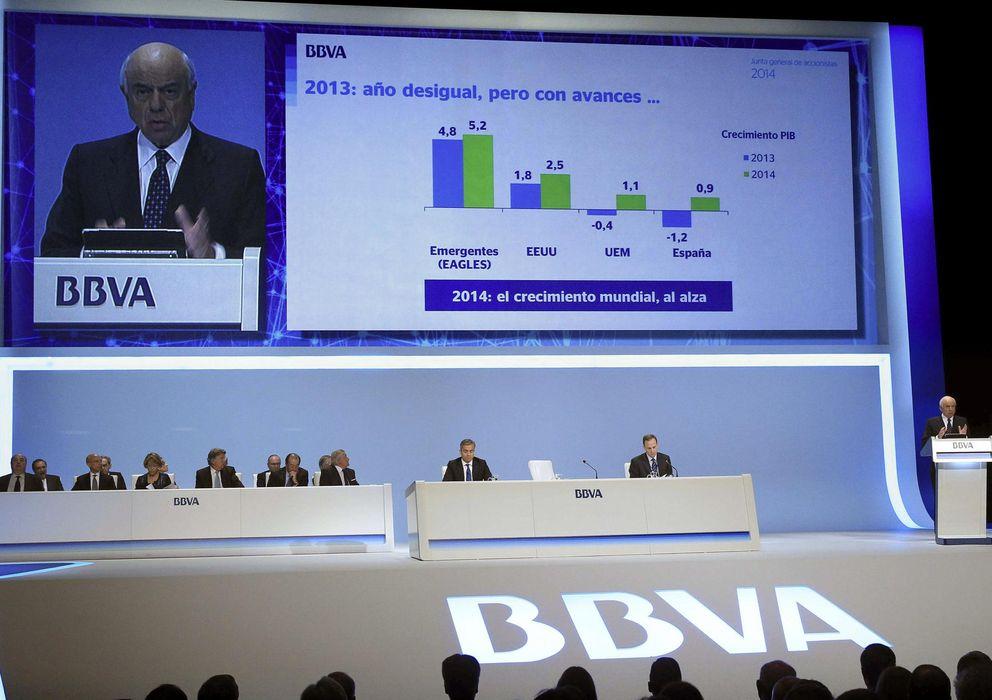 Foto: Junta de Accionistas de BBVA. (EFE)