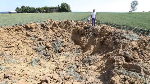 Explosión de bomba de II Guerra Mundial en Ahlbach