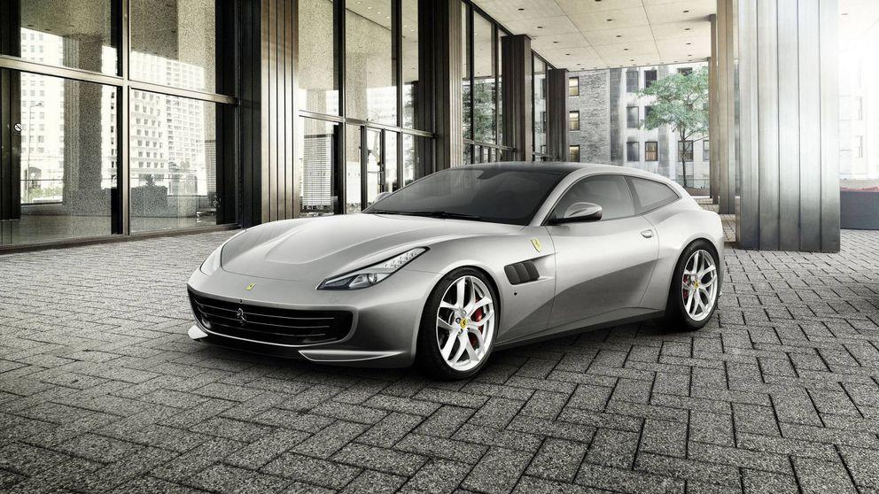 El Ferrari GTC4Lusso T hará historia en París