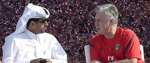 Ancelotti sigue esperando que Al-Khelaifi le encuentre un sustituto para llegar al Bernabéu