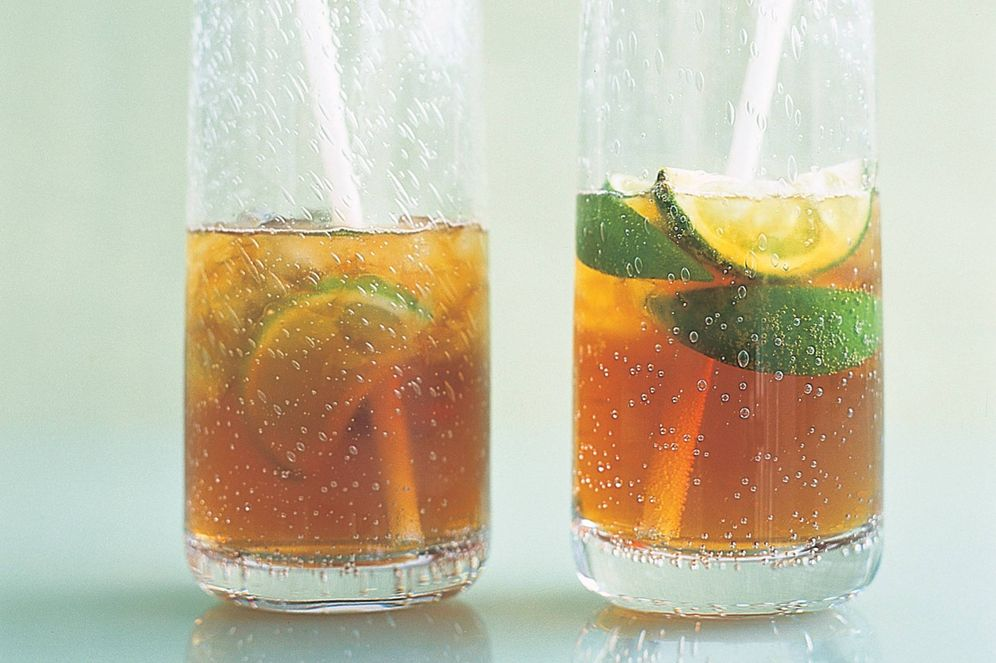 Foto: Pimm's con ginger-ale.