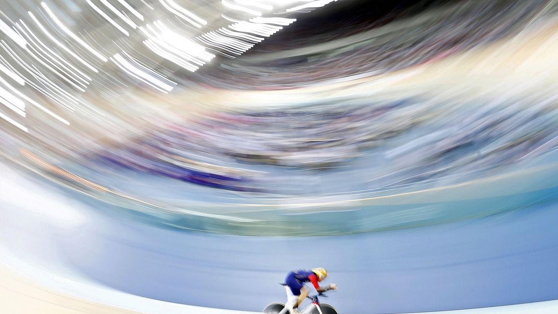 Foto: Bradley Wiggins bate el récord de la hora