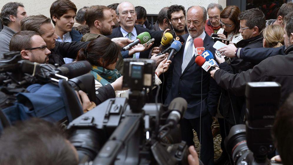 Foto: El hasta ahora alcalde de Valladolid Javier León de la Riva. (EFE)