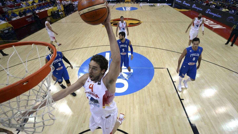 Gasol acabó con 34 puntos, 10 rebotes y 5 asistencias (Efe)
