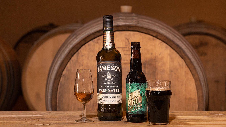 Jameson y La Quince presentan Sine Metu, una cerveza artesanal con madera de whisky
