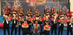Post de El equipo español de cheerleaders con más hombres que mujeres