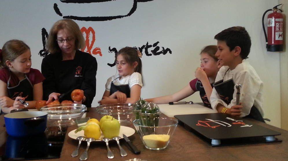 Foto: Taller de cocina infantil
