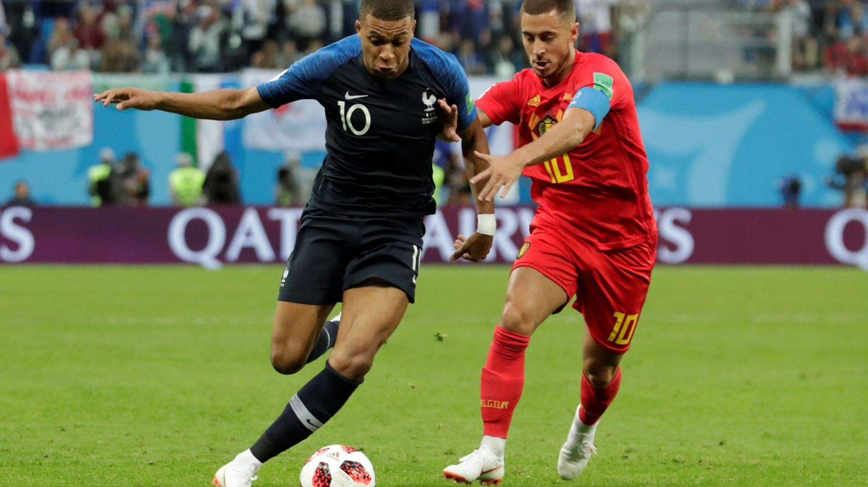 ¿Vestirán de blanco Mbappé y Hazard? (Reuters)