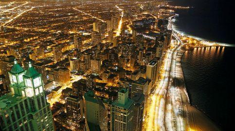 La luminosa noche de Chicago