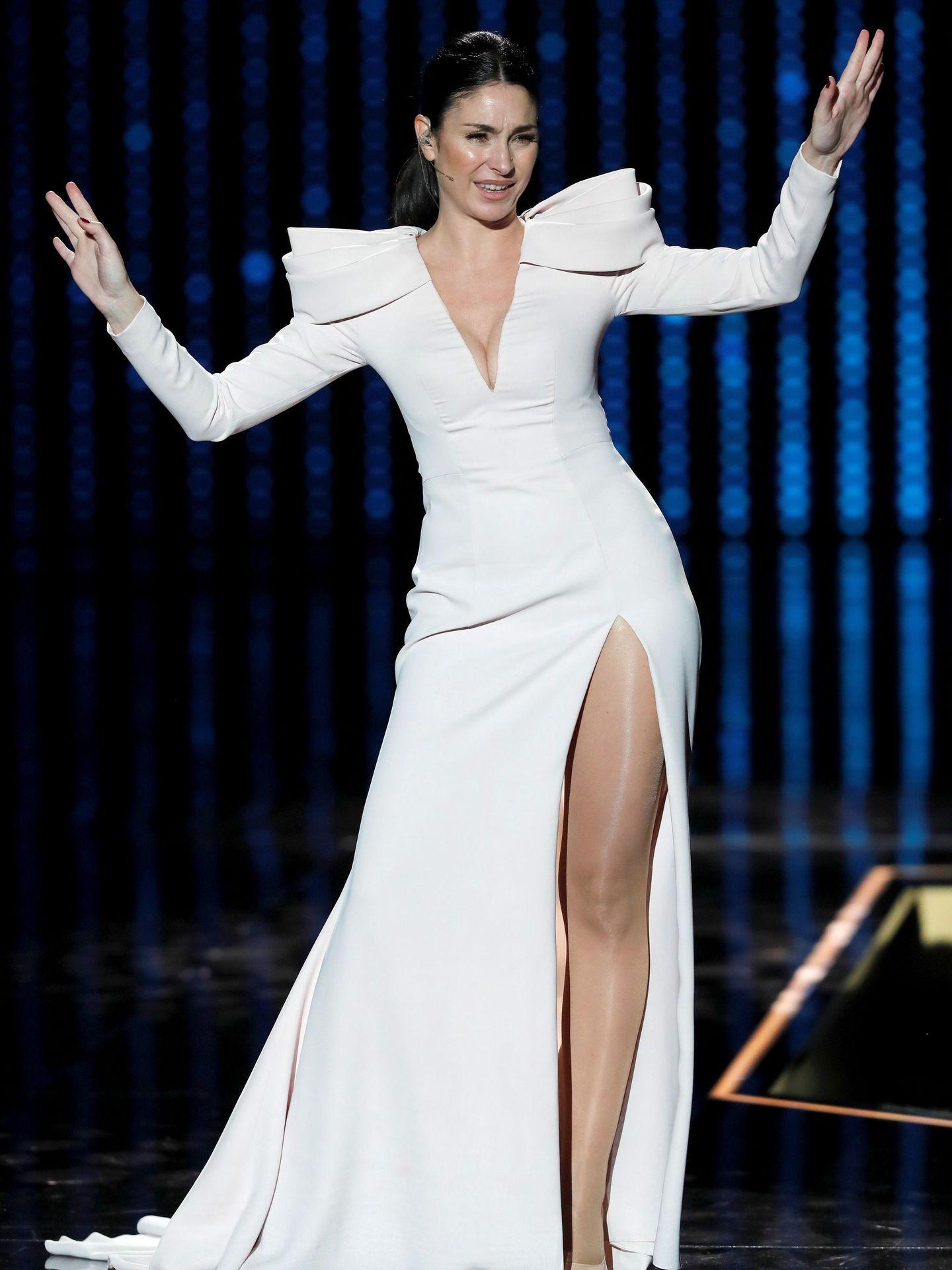 Celia Flores, durante su actuación. (EFE)