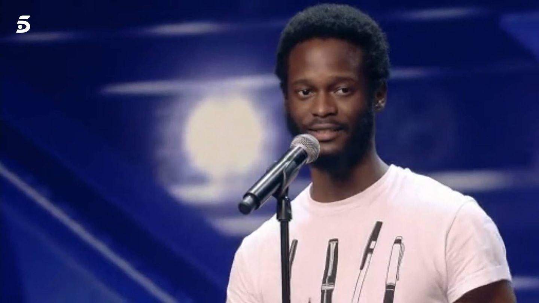 El guineano César Brandon Ndjocu.