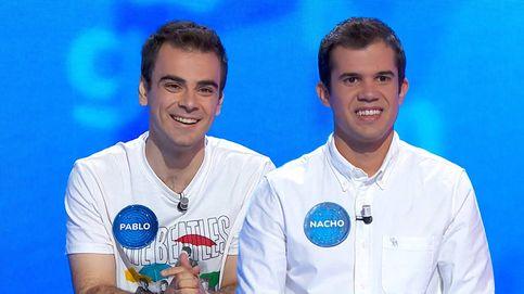 Pasapalabra: Nacho y Pablo se convierten en la segunda pareja más competitiva