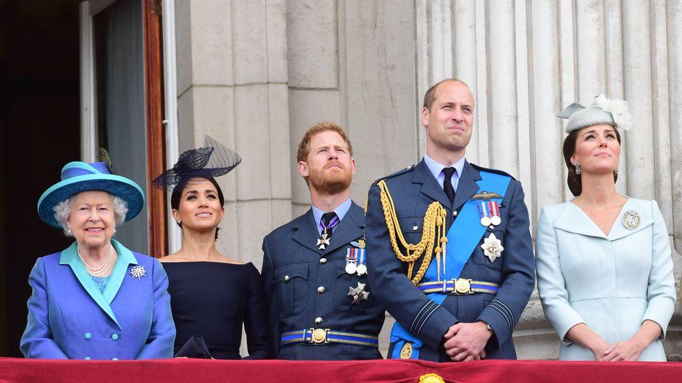 Foto: La familia real británica, en alerta. (Getty)