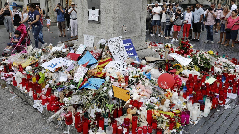 Memorial por los atentados de Barcelona. (EFE)