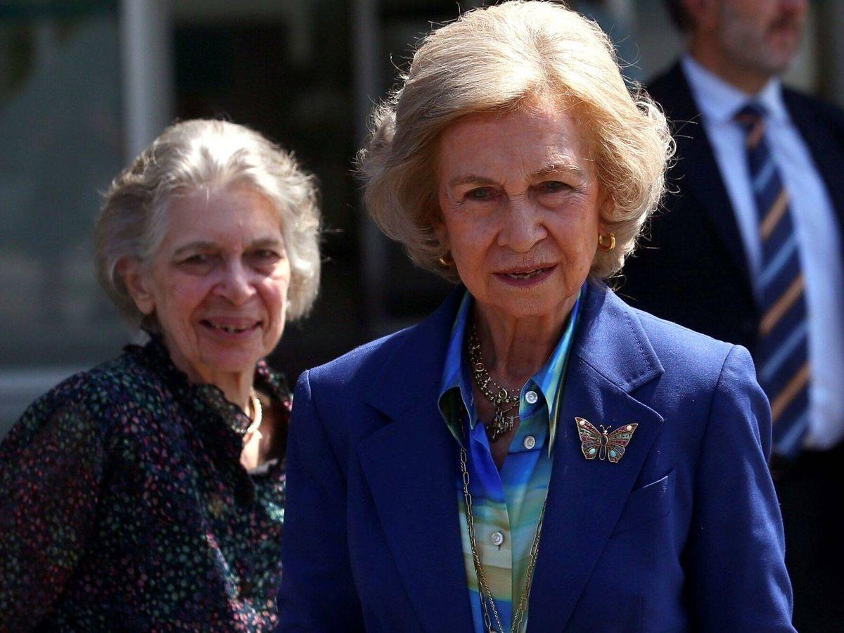 Foto: La reina Sofía y la princesa Irene. (EFE)