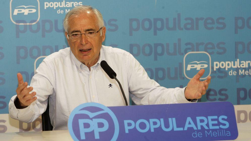 Foto: El presidente de Melilla, el popular Juan José Imbroda. (EFE)
