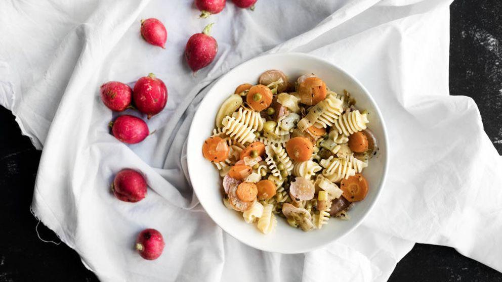 Receta saludable para el verano: pasta templada con hortalizas