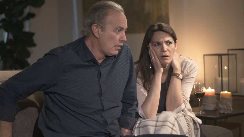 Bertín Osborne y Fabiola Martínez, en 'Mi casa es la tuya'.