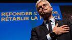 El líder de los conservadores franceses dimite tras la debacle de las europeas