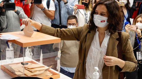 Elecciones en Madrid, en directo: sigue en 'streaming' la noche electoral