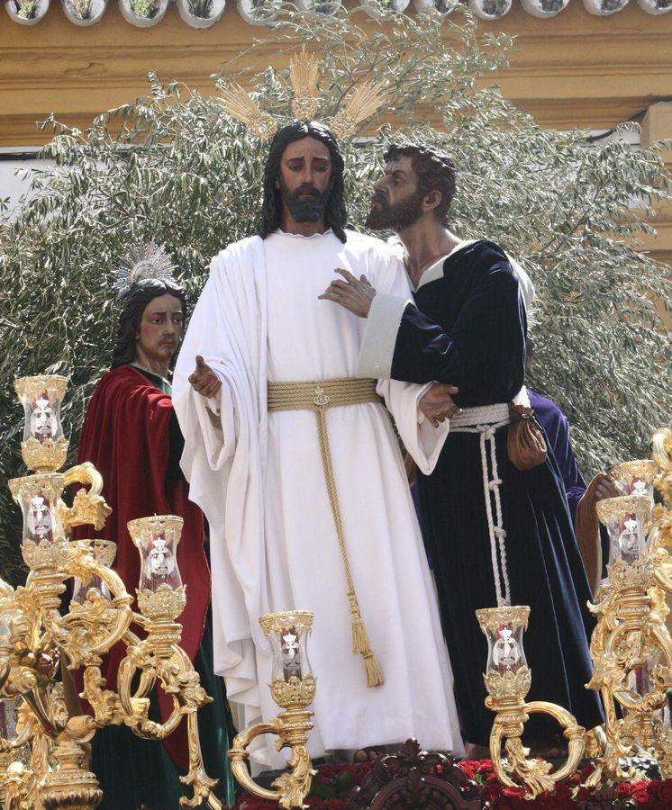 Foto: Jesús de la Redención en El beso de Judas (Lobillo, Wikimedia)
