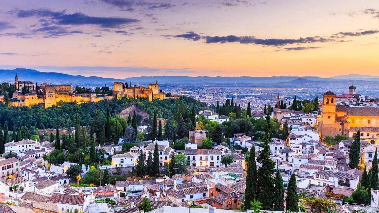 Foto: Ciudad de Granada.