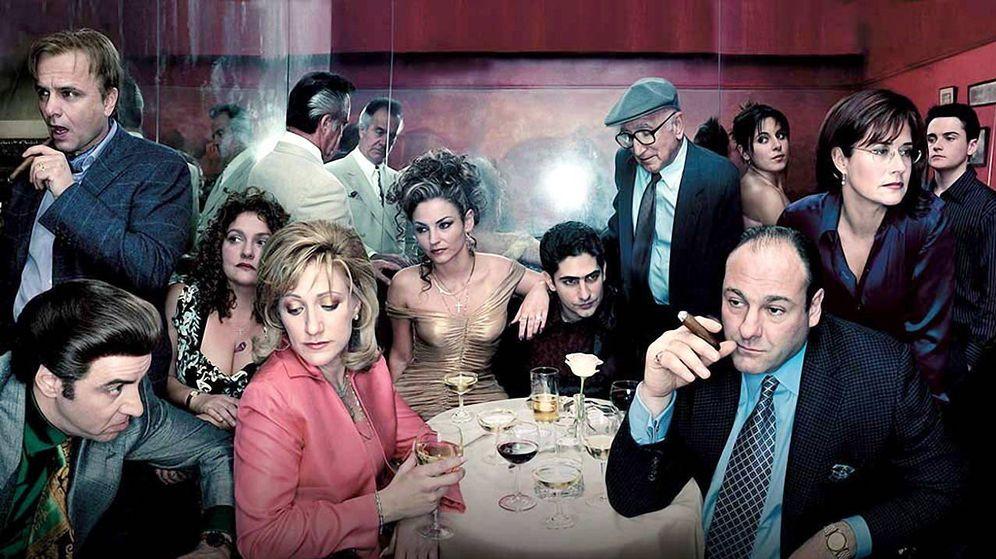 Foto: Imagen promocional de la serie de David Chase, 'Los Soprano'.