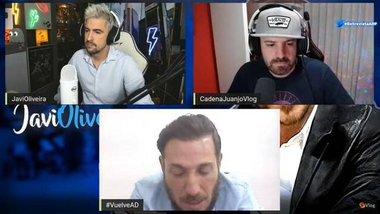 Entrevista a Antonio David Flores en 'CadenaJuanjoVlog'. (YouTube)