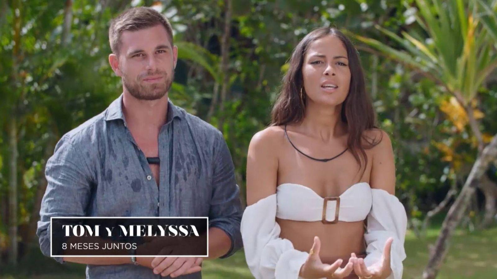 Quiénes son Tom y Melyssa, la pareja de 'La isla de las tentaciones 2'?