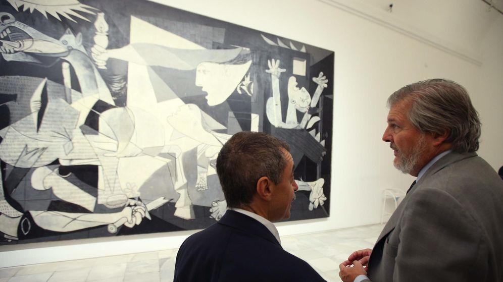Foto: Mendez de Vigo visitando el museo el pasado mes de septiembre (Efe)