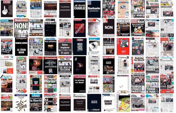 Foto: Portadas de diarios europeos de ayer