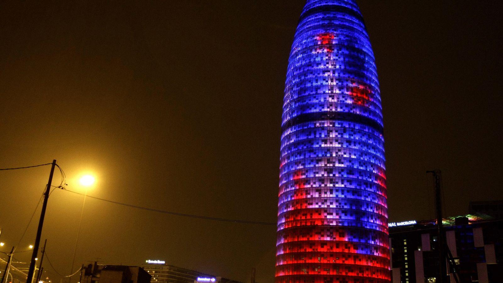Foto: La torre Agbar de Barcelona. (Reuters)